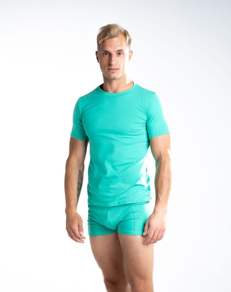 Tshirt_man_boxer_green_front2